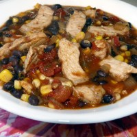 Pork Chop Soup {Leftovers!}