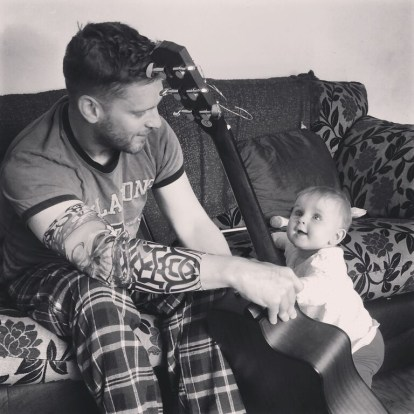 guitar and daddy