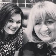 B&W LadyNicci and Carmel Harrington