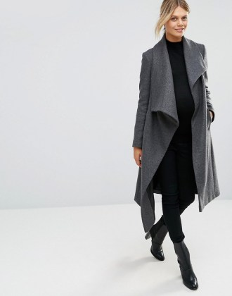 Maternity Coat ASOS open
