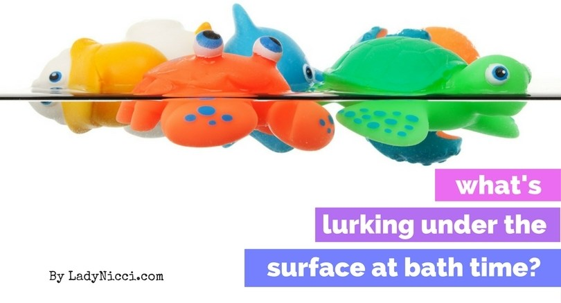 What's lurking in your bath toys - mould in children's toys