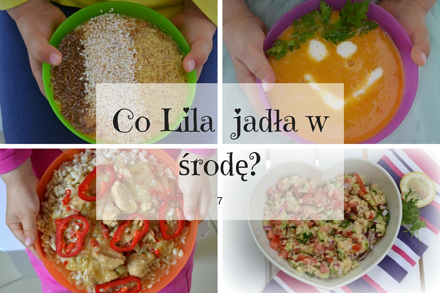 Co Lila jadła w środę? 7