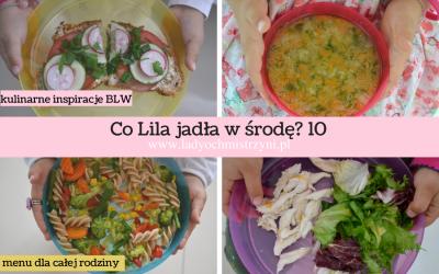 Co Lila jadła w środę? 10 -zdrowe przepisy dla dzieci BLW