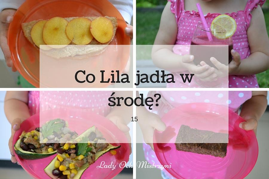 Co Lila jadła w środę? 15