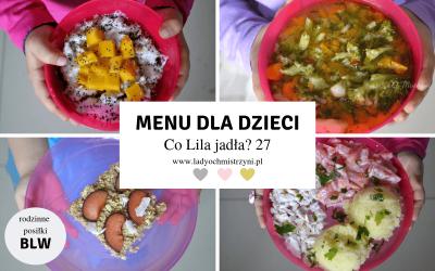 Przepisy dla dzieci – co Lila jadła? 27