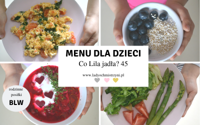 Menu BLW – co Lila jadła? 45