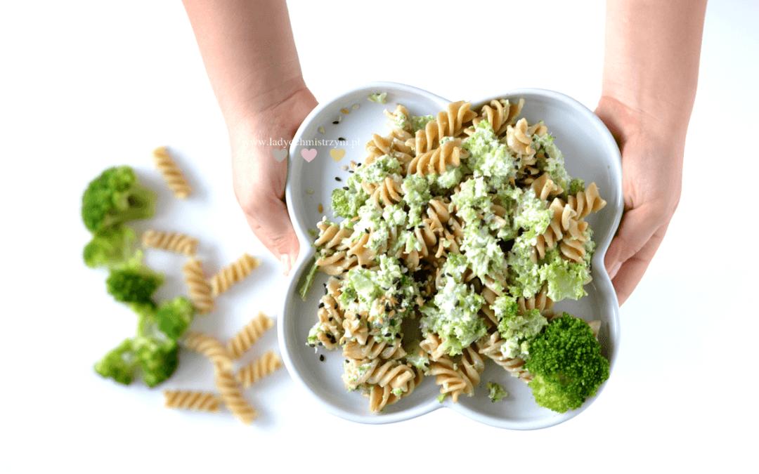 Makaron z brokułami BLW- szybki obiad