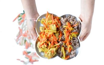 Indyk z warzywami i kaszą – na obiad lub kolację
