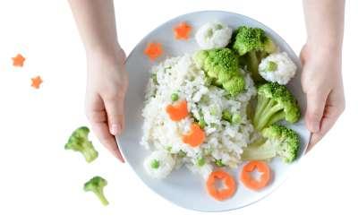 Ryż z warzywami dla dzieci BLW