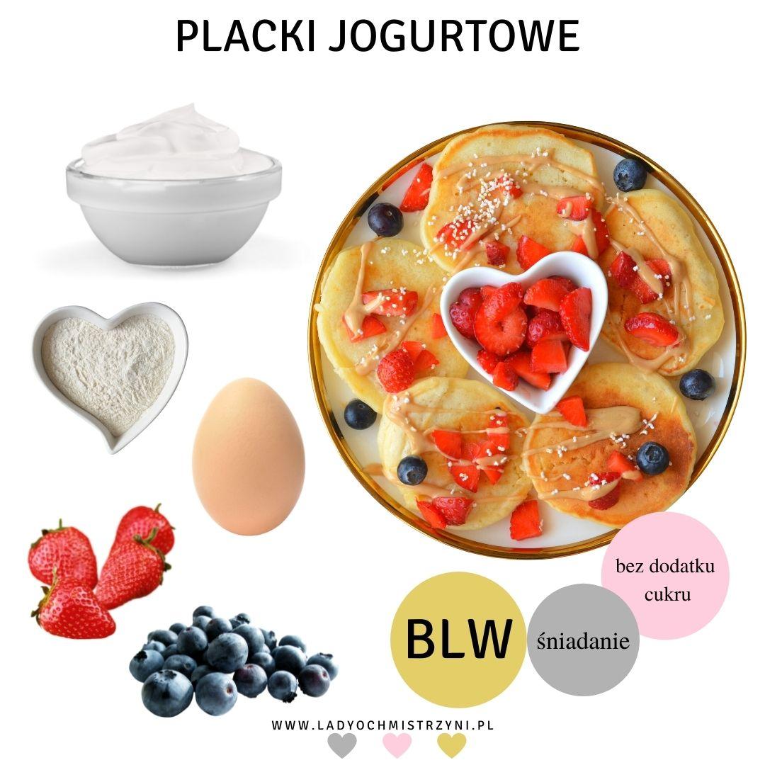 placki jogurtowe dla dzieci