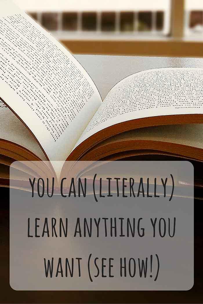 Learning shouldn't stop when we finish our formal education. This is a perfect reason to try out online learning and learn languages, web technologies, social media and more! • LadyofAwesome.com