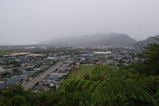 The giant street of Greymouth