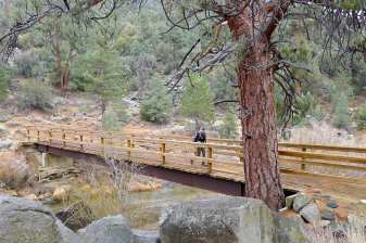 PCT Bridge over the North Fork Kern River