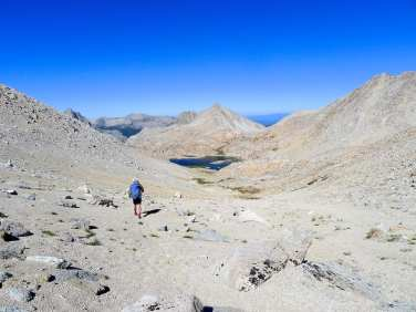 Descending col to Bear Lakes Basin