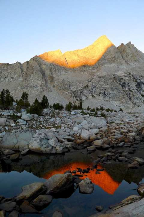 Sunrise - Outlet of Meriam Lake