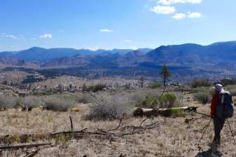 View of Rockhouse Basin from Dome Trail