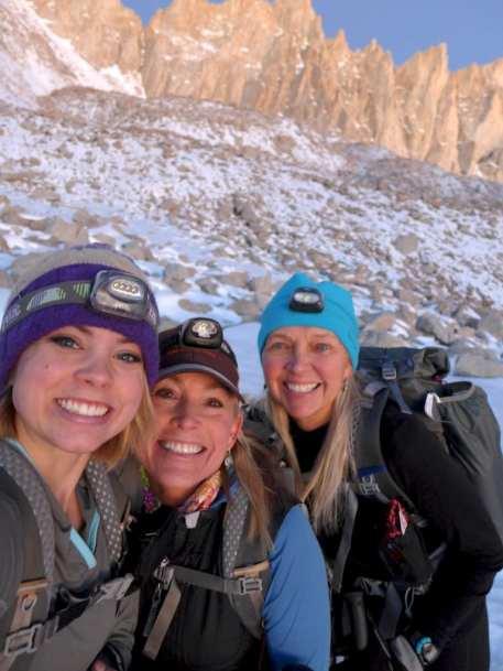 Ladies on Mount Whitney