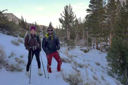 Stealthy and Silly Chili - North Fork Big PIne Creek Trail