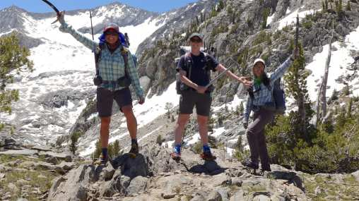 Top of Gray Pass