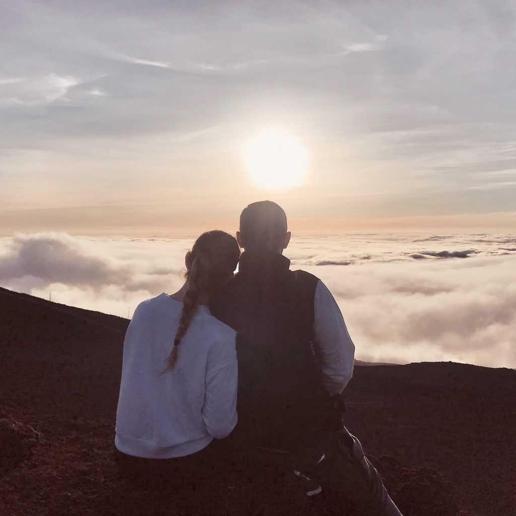 Haleakala sunset view