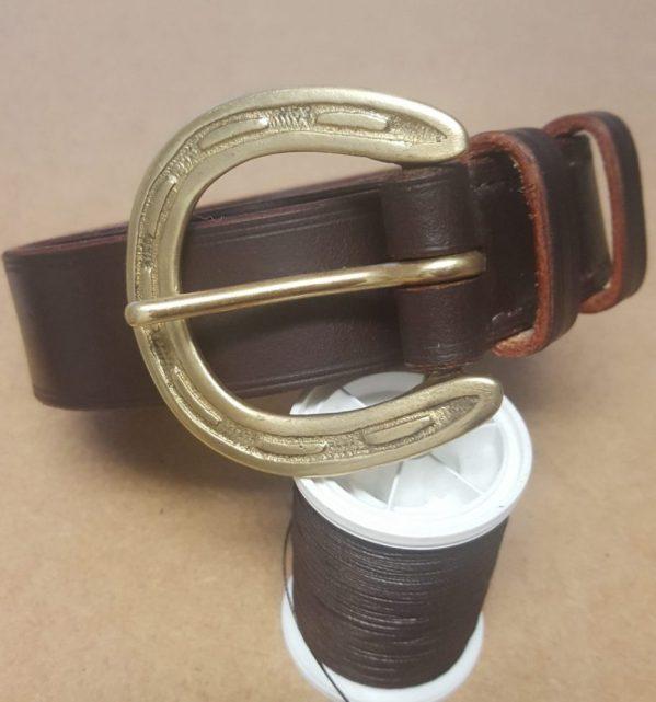 Horseshoe Buckle Belt