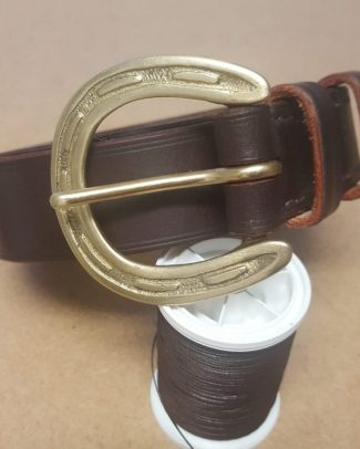Horseshoe Buckle Belt