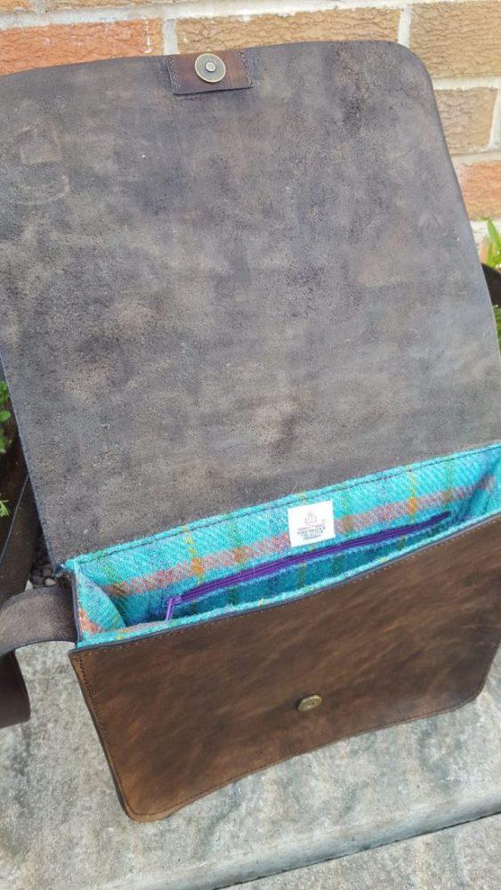 Inside of the Messenger Bag