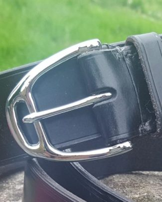 Ready-made stirrup buckle belt