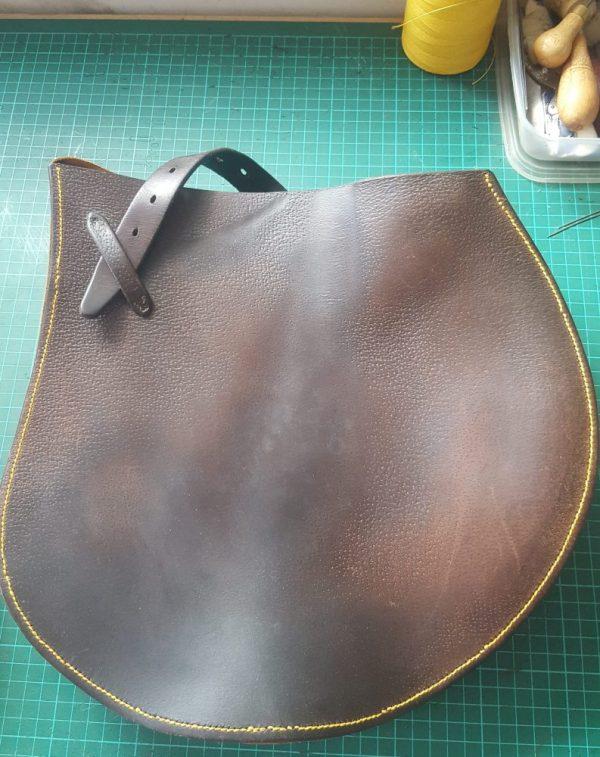 Horse Saddle Flap Bag