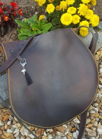 Bespoke saddle Flap Bag