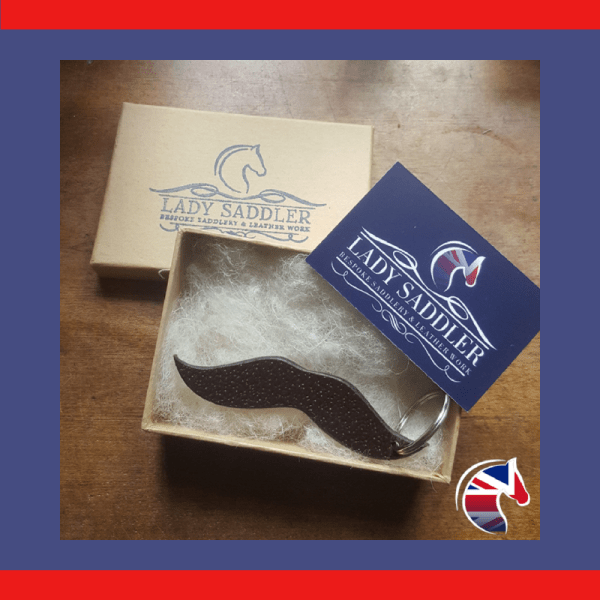 Brown Leather Moustache Woocommerce Image