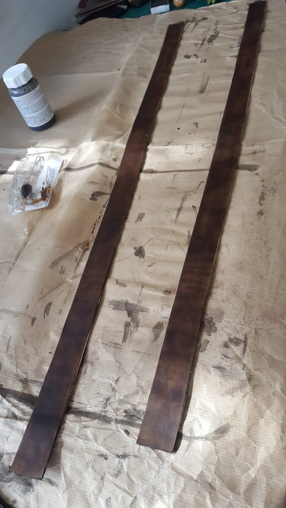 Staining Leather Straps