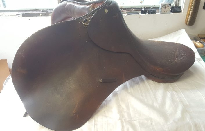 Old Saddle for Recycle