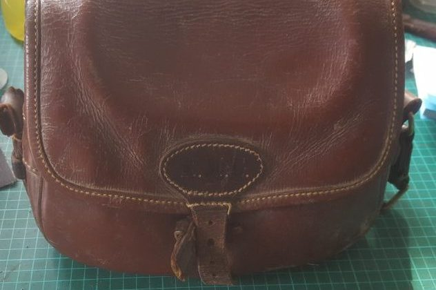 A Cartridge Bag & Gun Belt Repair