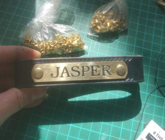 Engraved Nameplate for Jasper