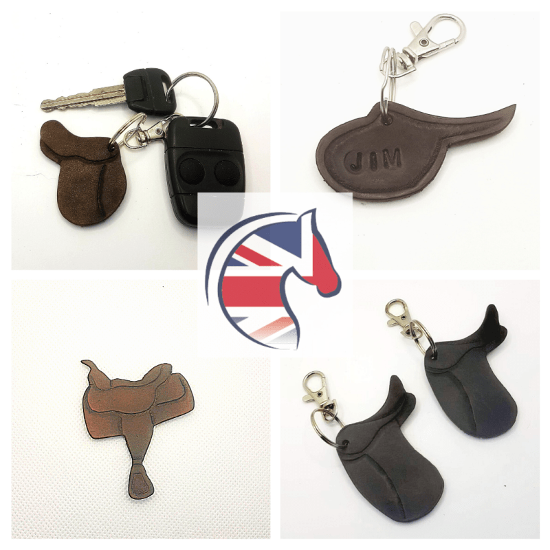 Saddle Keyring Advert