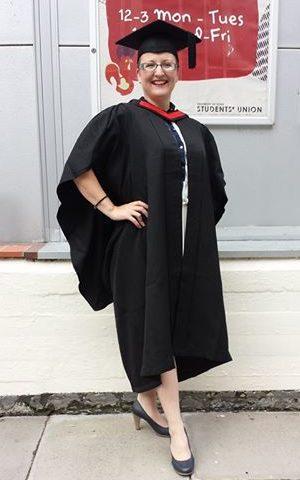Clair's BA Hons Graduation Day