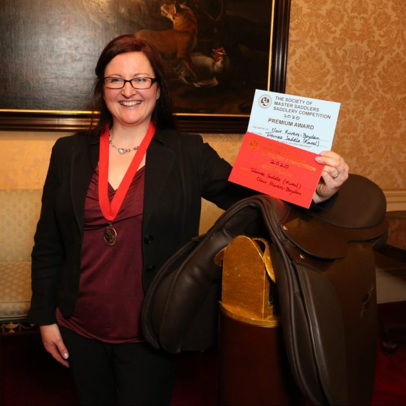 Award winner at the National Saddlery Competiton 2020