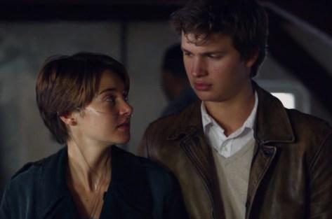 Hazel (Shailene Woodley) et Gus (Ansel Elgort)