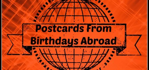 postcards from birthdays abroard