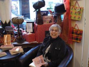 Book signing in Blairgowrie