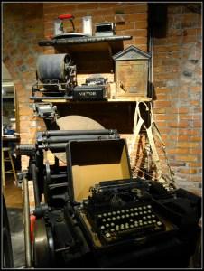 antique type writer