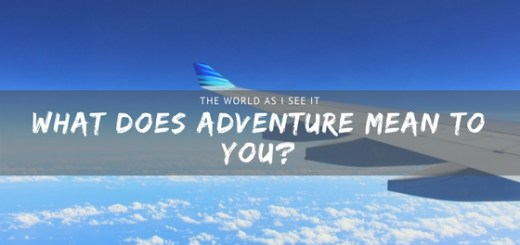 What does Adventure Mean to You?