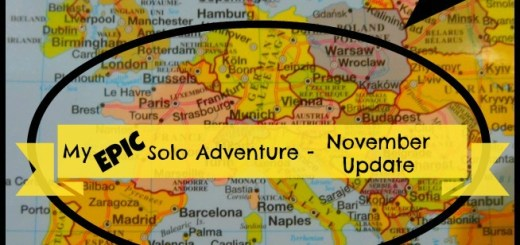 My Epic Solo Adventure November Update