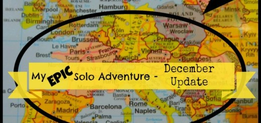 My Epic Solo Adventure - December Update