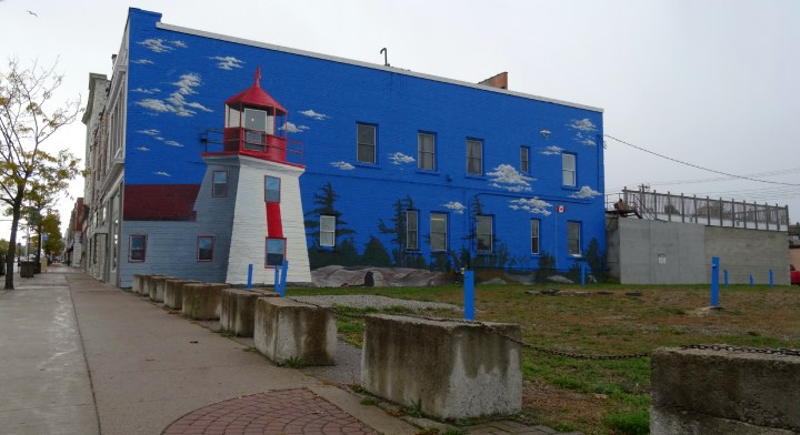 Brebeuf Lighthouse Mural