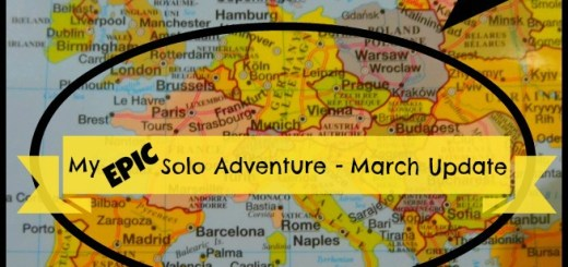 My Epic Solo Adventure - March Update