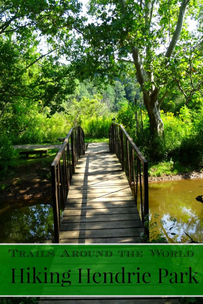 Hiking Hendrie Park