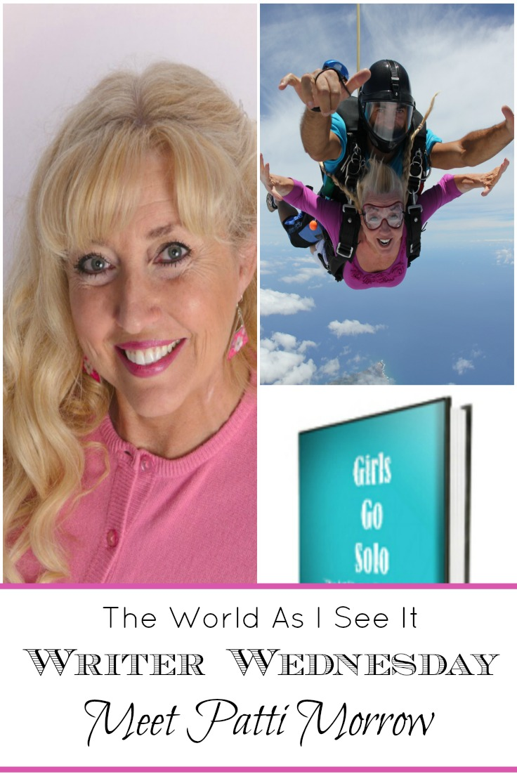 Writer Wednesday Meet Patti Morrow ⋆ The World As I See It