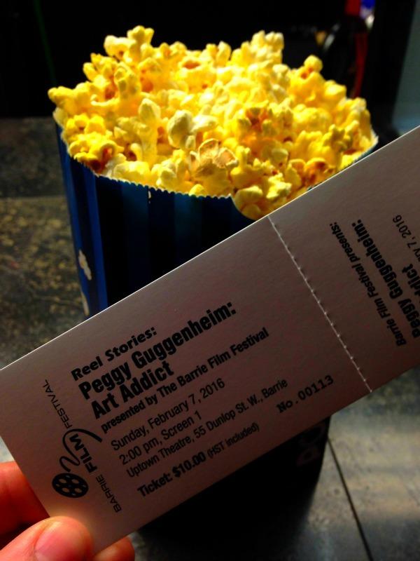 Barrie Filmfest ticket